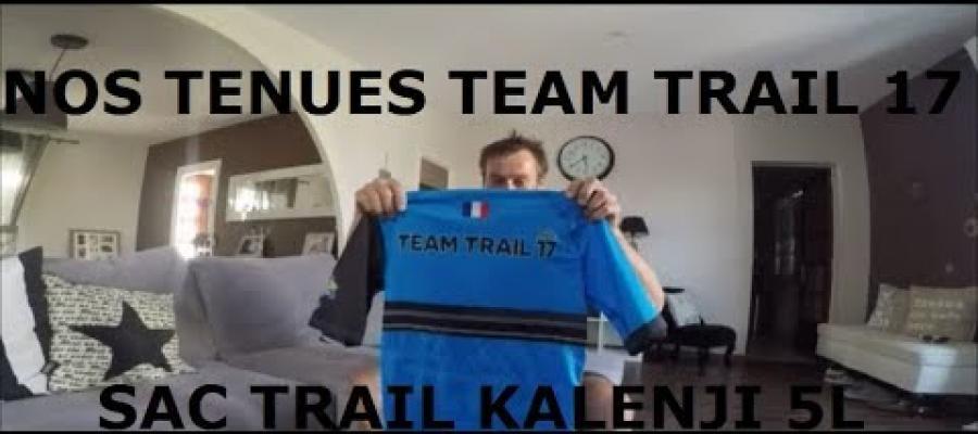 Nos tenues TEAM TRAIL 17, test sac gilet trail 5L Decathlon